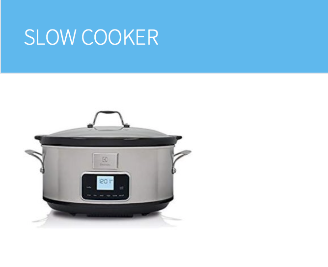 Regali originali: la slow cooker