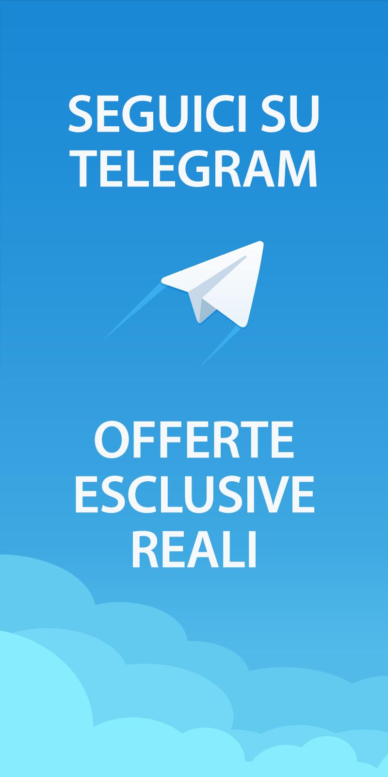Seguici su Telegram!